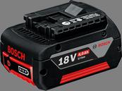 GBA 18 V 4.0 Ah M-C Professional