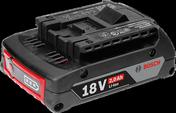 GBA 18V 2.0 Ah M-B Professional