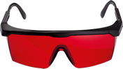 Gafas para visión láser (rojas) Professional