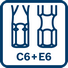 Aplicable en puntas C6 + E6