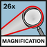 Magnetification 26x