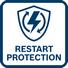 Protección contra rearranque